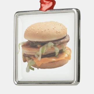 Gerade ein klassischer Hamburger Silbernes Ornament