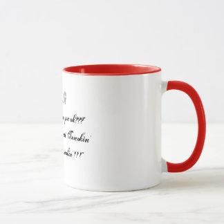 """Gerade ein kleiner Büro Humor… """"Gefangenes Tasse"""