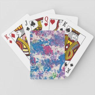 Gerade für Gina-Kunstwerk durch Baxter, Spielkarten