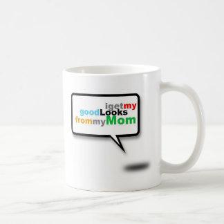 gerade für Mutter Kaffeetasse