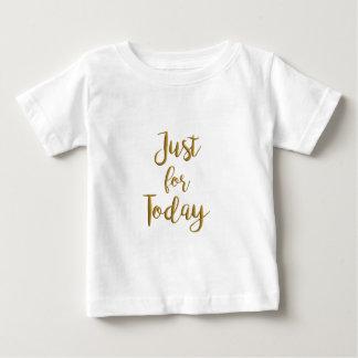 Gerade für Schritt-Erholung Taggoldzitat OM-Na 12 Baby T-shirt
