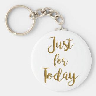 Gerade für Tag-Erholungszitat OM-Na-Slogangeschenk Schlüsselanhänger