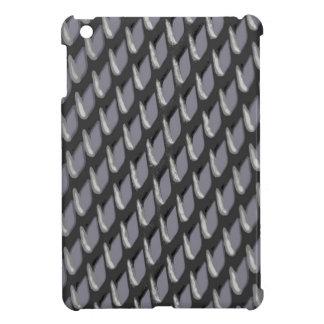 Gerade Gitter-vektorheide iPad Mini Hülle
