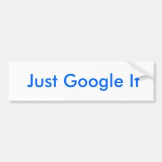 Gerade Google es Autoaufkleber