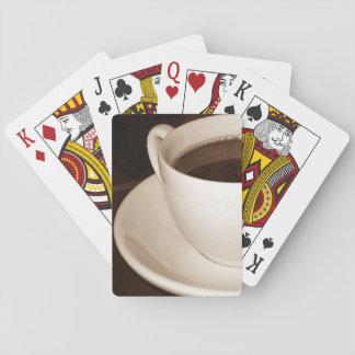 Gerade Hälfte Standardspielkarten eines Spielkarten