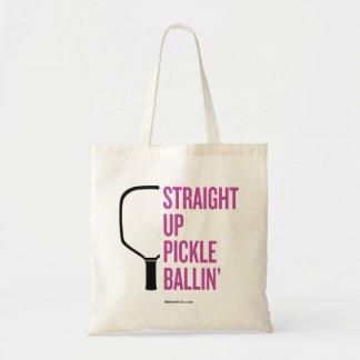 """""""Gerade hohe Essiggurke Ballin'"""" Pickleball Tragetasche"""