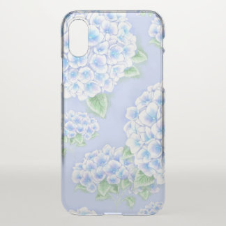 Gerade Hydrangea iPhone X Hülle
