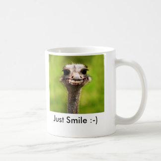 Gerade Lächeln:-) Kaffeetasse
