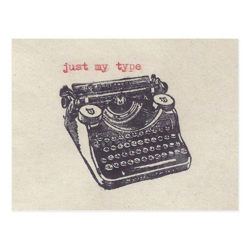 """""""gerade meine Art """" Postkarte"""