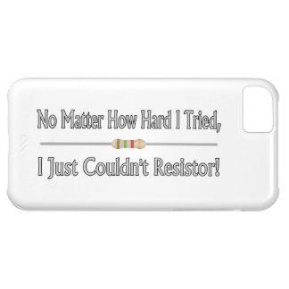 Gerade nicht könnte Widerstand iPhone 5C Hülle