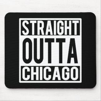 Gerade Outta Chicago lustige Mausunterlage Mauspad