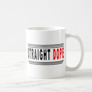 Gerade Schmiere Kaffeetasse