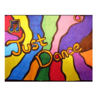 Gerade Tanz Postkarte