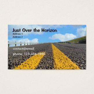 Gerade über dem Horizont Visitenkarte