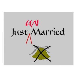 Gerade unverheiratet - Postkarte