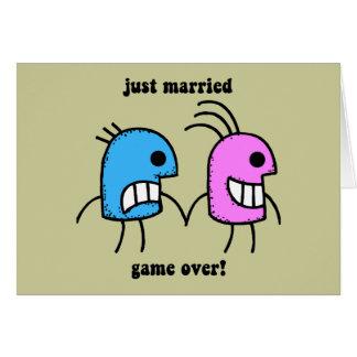 gerade verheiratet karte