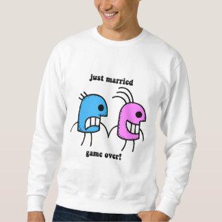 gerade verheiratet sweatshirt