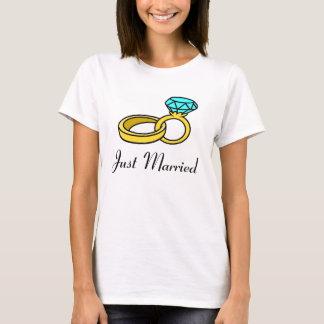 Gerade verheiratet T-Shirt