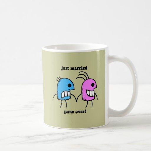 gerade verheiratet kaffee tassen