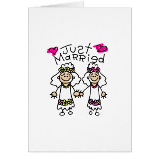 Gerade verheiratete Lesben Karte