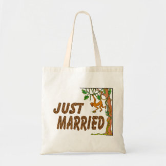 Gerade verheiratetes Dschungel-Fieber Tragetasche