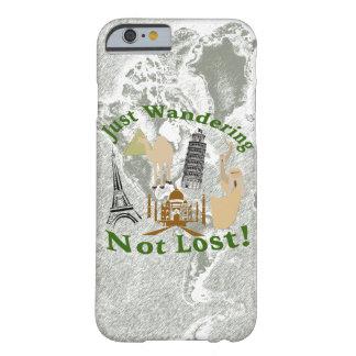 Gerade wandernd nicht verlorener Entwurf Barely There iPhone 6 Hülle