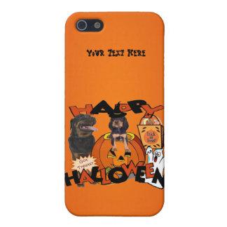 Gerade zu niedlicher Rottweiler Welpe begleitet iPhone 5 Schutzhüllen