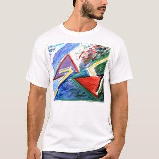 Gerade zwei Winkel T-Shirt