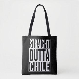 gerader outta Chile Tasche