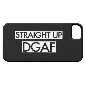 Gerades hohes DGAF iPhone 5 Etui