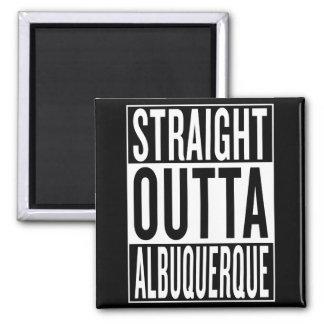 gerades outta Albuquerque Quadratischer Magnet