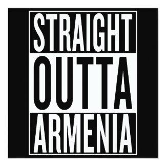 gerades outta Armenien Karte