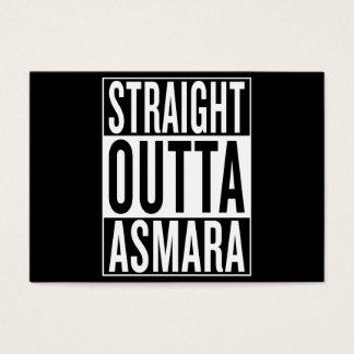gerades outta Asmara Visitenkarte