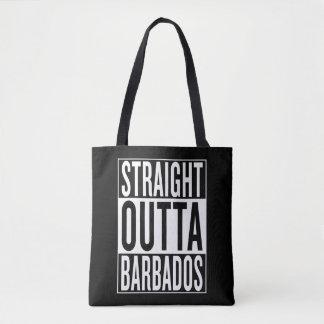gerades outta Barbados Tasche