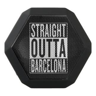 gerades outta Barcelona Schwarze Bluetooth Lautsprecher