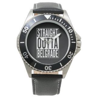 gerades outta Belgrad Armbanduhr