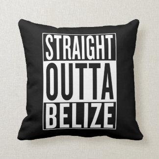 gerades outta Belize Kissen
