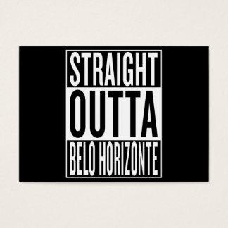 gerades outta Belo Horizonte Visitenkarte