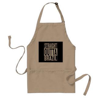 gerades outta Brasilien Schürze