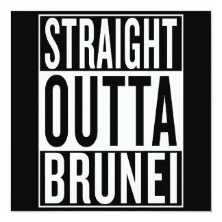 gerades outta Brunei Karte