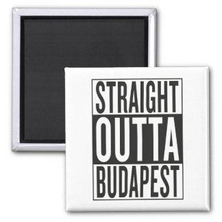 gerades outta Budapest Quadratischer Magnet