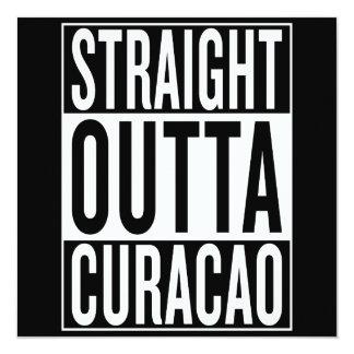 gerades outta Curaçao Karte