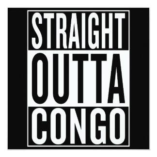 gerades outta der Kongo Karte