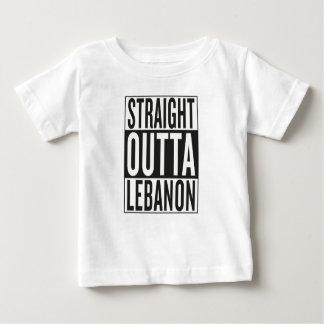 gerades outta der Libanon Baby T-shirt