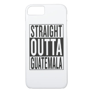 gerades outta Guatemala iPhone 8/7 Hülle