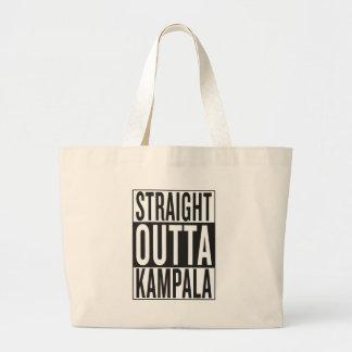 gerades outta Kampala Jumbo Stoffbeutel