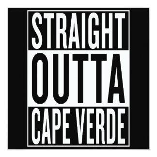 gerades outta Kap-Verde Karte
