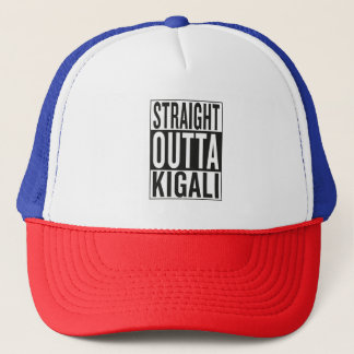 gerades outta Kigali Truckerkappe