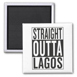 gerades outta Lagos Quadratischer Magnet