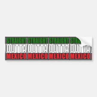 Gerades Outta Mexiko Autoaufkleber